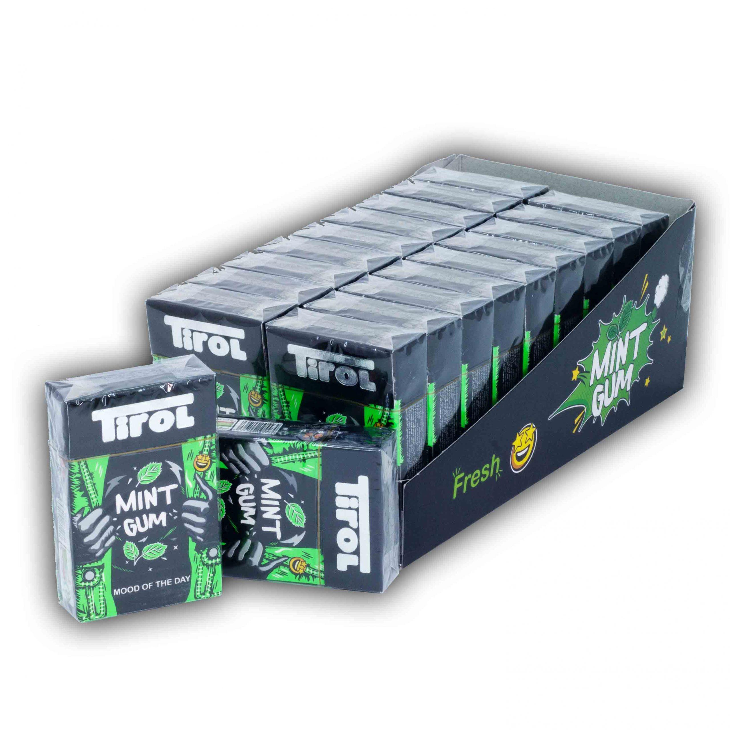 آدامس تيرول جعبه اي با طعم نعنا 20 بسته اي