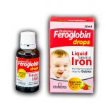 فروگلوبين (فروس سولفات+ويتامين ث)75م گ/12.5م گ-30م ل قطره 1ع-ويتابيوتيکس